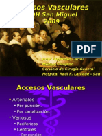 Clase UDH Accesos Vasculares