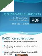 Esplenopatias quirurgicas