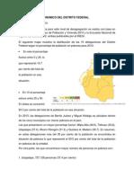 Analisis Socioeconomico Del Distrito Federal