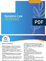 Business Law Dictionary