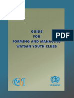 Guide for Forming and Managing WATSAN Youth Clubs