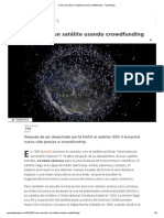 Cómo Resucitar Un Satélite Usando Crowdfunding - FayerWayer