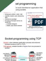 Socket programming