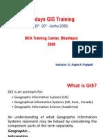 ArcGIS Training NEA
