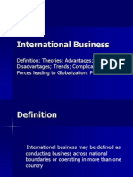 International Business I