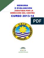 Memoria Curso 2013-14 Direccion