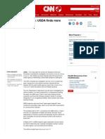 Anthrax Investigation USDA Finds More CDC Lab Problems