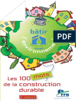 100 Mots de La Construction Durable