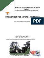 INTOXICACION por nitritos y nitratos