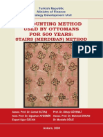 Accounting Method Used by Ottomans for 500 Years - Stairs (Merdiban) Method[1]