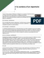 Ms Dos Lister Le Contenu d Un Repertoire Dans Un Fichier 948 Ktin2d
