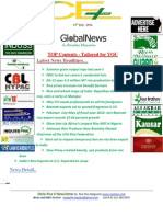 15th July,2014 Daily Global Rice E-Newsletter by Riceplus Magazine