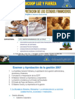 LECTURA E INTERPRETACION DE LOS EE.FF CREDICOOP 15DIC09.ppt