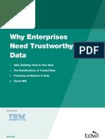 Trustworthy Data