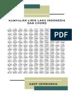 Lirik Dan Chord Lagu Indo