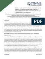 2. Biotech - Ijbtr -Development and Kinetic Validation - Padmarajaiah Nagaraja - Opaid