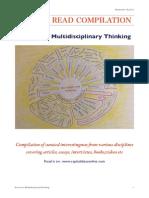 Multidisplinary thoughts