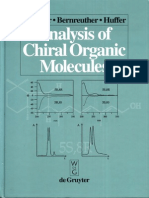Peter Schreier, Alexander Bernreuther, Manfred Huffer-Analysis of Chiral Organic Molecules_ Methodology and Applications-Walter de Gruyter (1995)