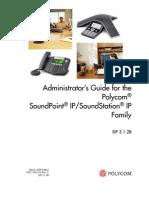 Audioconferencing Polycom Soundstation Soundpoint Administrators Guide