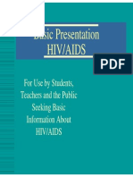 Basic HIV AIDS Presentation