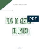 Plan de Gestion Del Centro