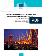 Access to Finance Culture and Creative Sector En
