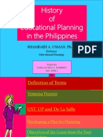 Educational Planning