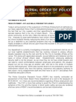MBFOP Off-Duty Employment Media Statement