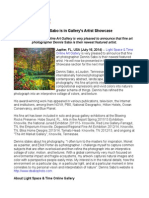 Dennis Sabo is in Gallery's Artist Showcase