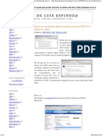 Crear un certificado digital autofirmado para IIS 6.pdf
