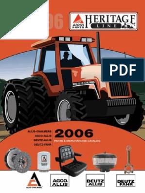 [DIAGRAM_38ZD]  Heritage - Allis-Chalmers - AGCO-Allis - Deutz-Allis - Deutz-Fahr 79023609V  - | Distributor | Fuel Injection | Deutz Tractor Wiring Diagram Gas Gauge |  | Scribd