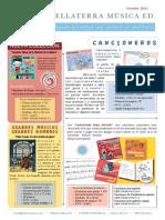 Catálogo Libros Musicales Infantiles
