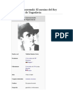 Vlado Chernozemski. El Asesino Del Rey Alejandro de Yugoslavia