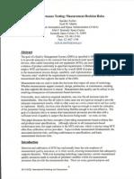 Conformance Testing Measurement Decision Rules(NASA)(IMPORTANT)