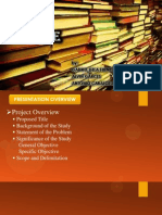 Thesis Library Management