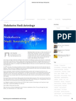 Nakshatra Nadi Astrology _ Astrogurukul