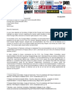 FCO Joint Letter 16 July 2014
