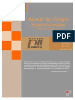 Manual de Estagio Curricular Cupervisionado Pedagogia