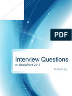 sharepoint 2013 Interview questions
