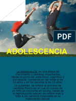 Adolescencia....()