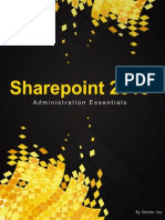 sharepoint 2013 administration