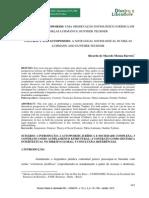 Contrato e Autopoiesis- Uma Observação Sociológico-jurídica Em Niklas Luhmann e Gunther Teubner