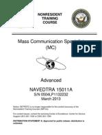 MC NAVEDTRA 15011A (Advanced)
