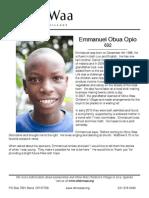 692 Opio Emmanuel