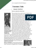 Interview Tanemura Shoto