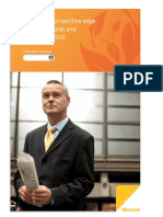 Creating a Competitive Edge With JD Edwards and SharePoint 2010