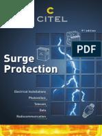 CITEL SPD Surge Protection Device Catalog 2013