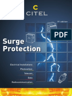 CITEL SPD Surge Protection Device Catalog 2013