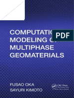 Computational Modeling of Multiphase Geomaterial