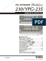 DIGITAL KEYBOARD DGX-230 Manual